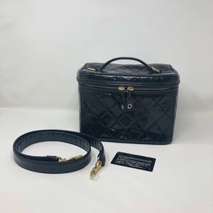 Chanel vintage vanity case with strap